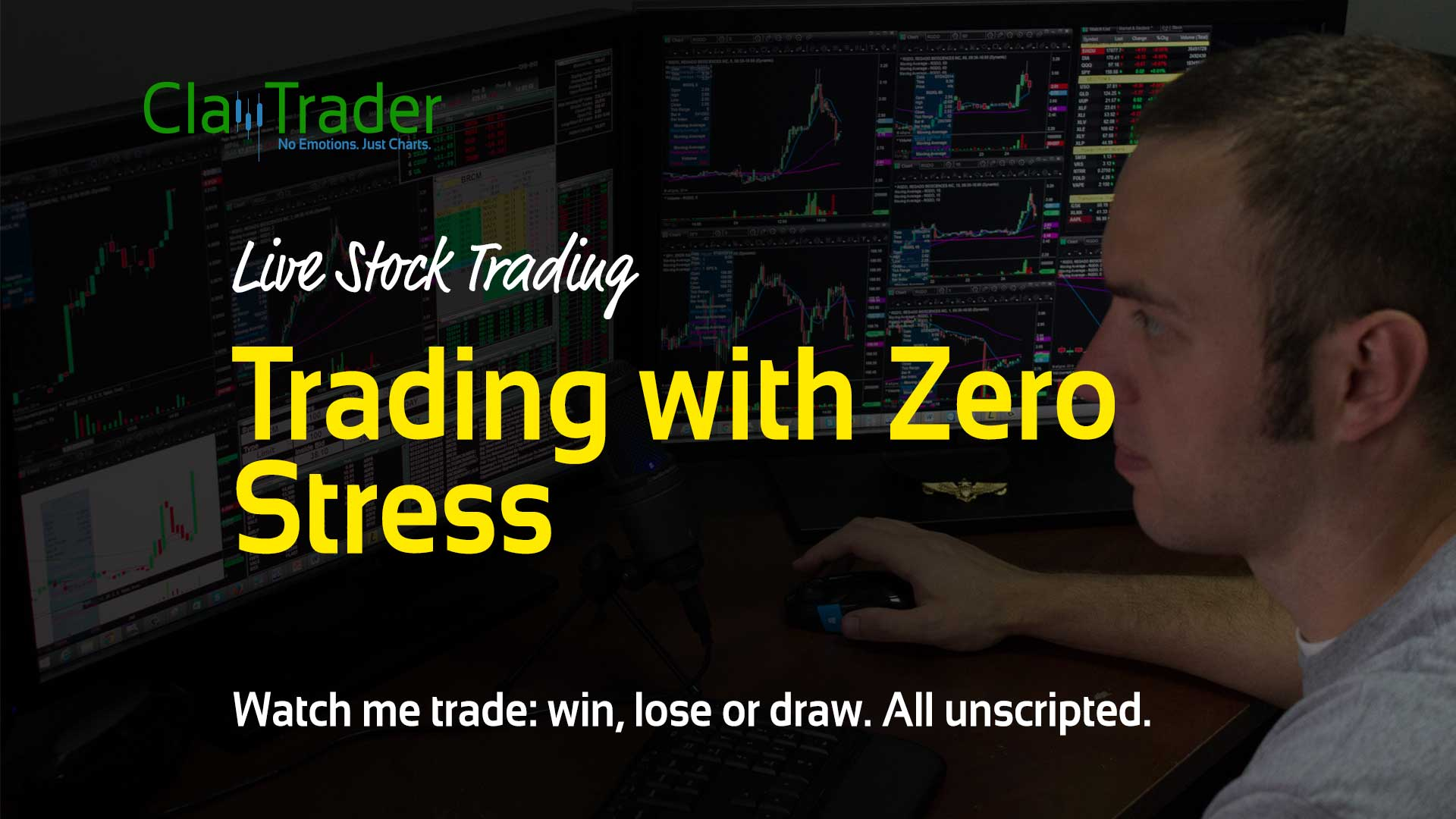 Live Stock Trades - Trading with Zero Stress