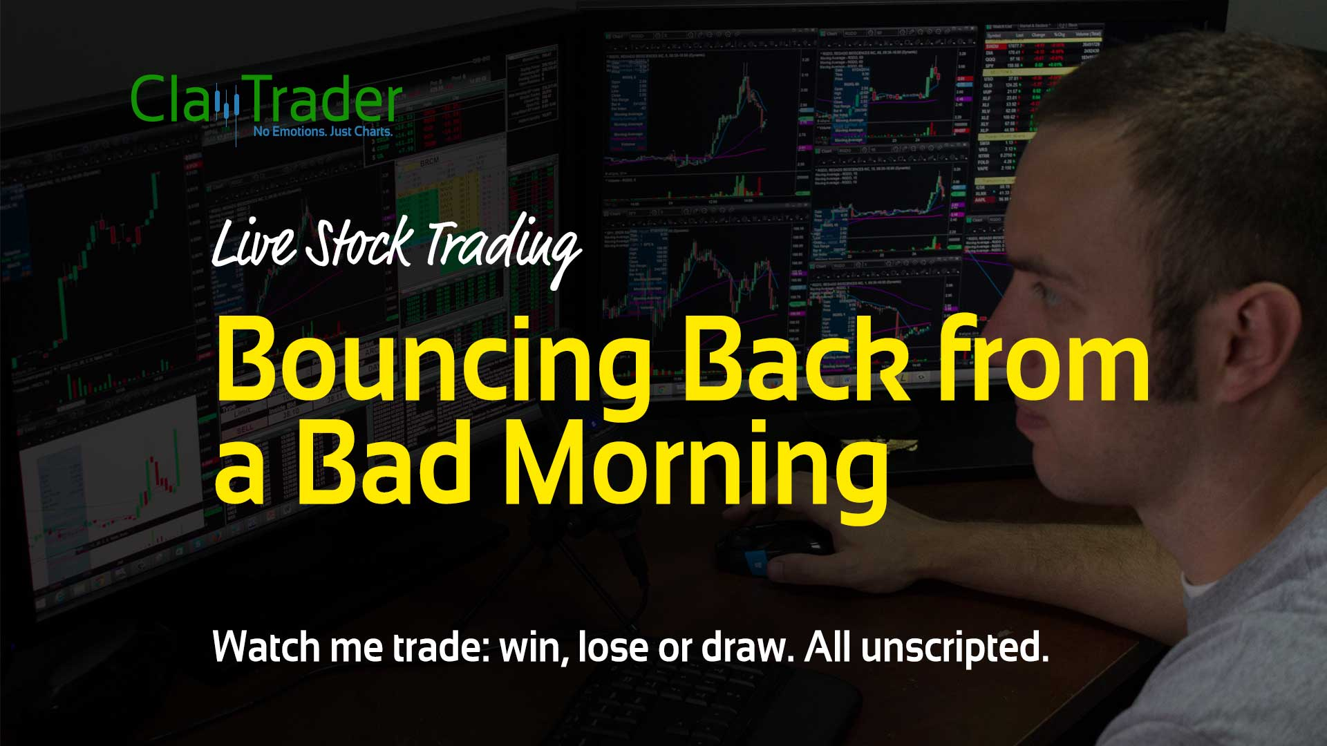 Live Stock Trades - Bouncing Back from a Bad Morning