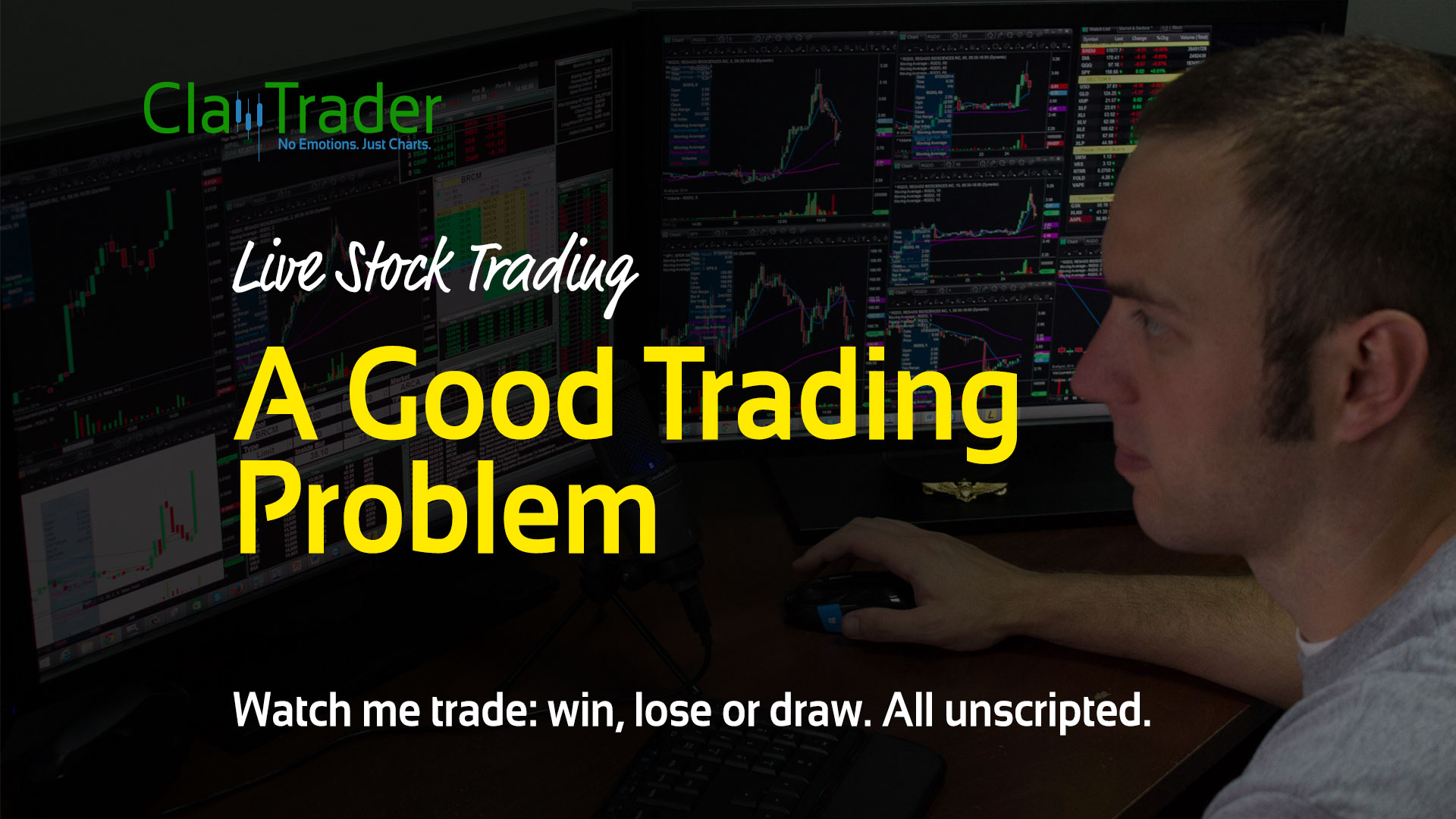 Live Stock Trades - A Good Trading Problem