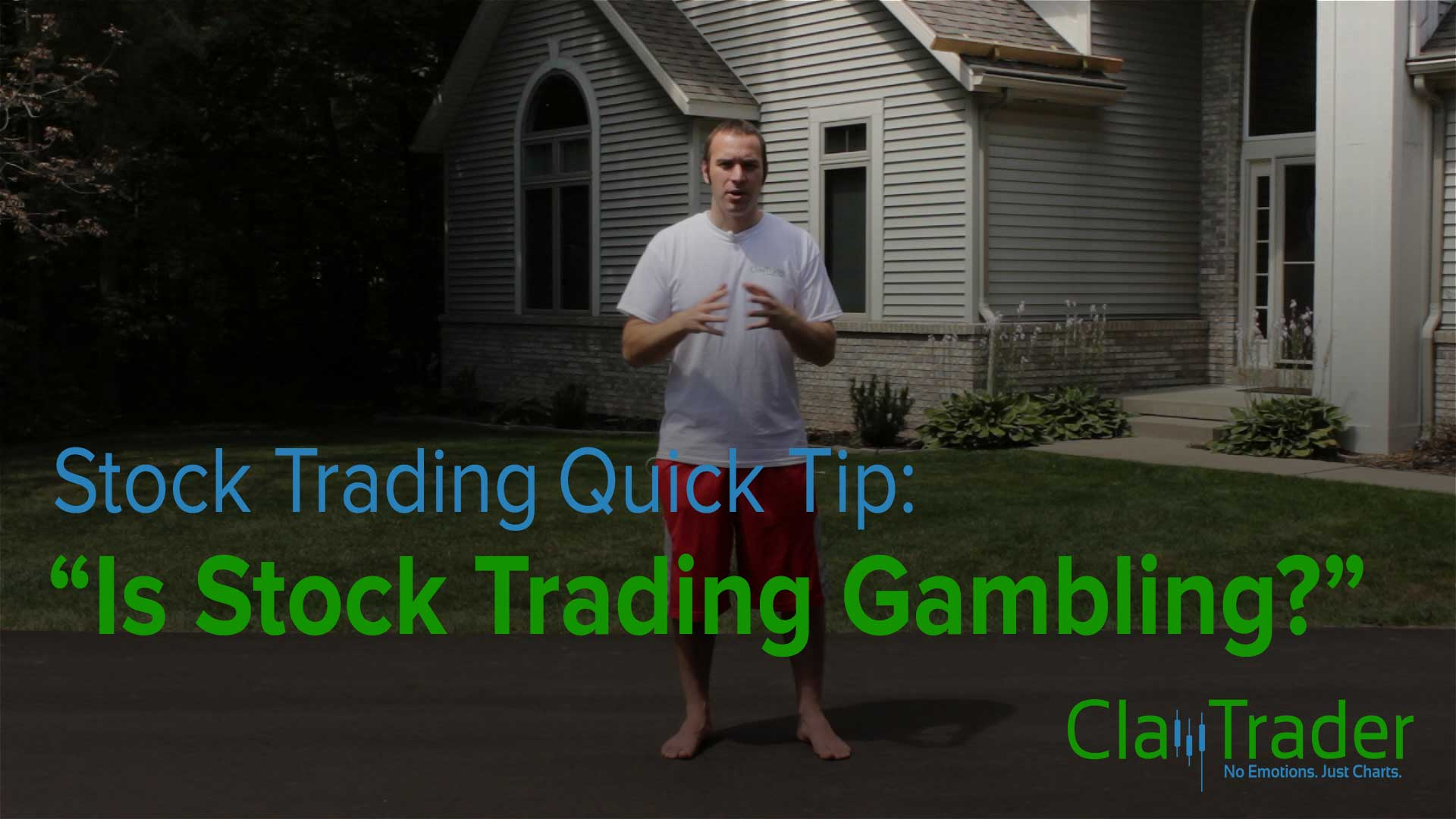 Stock Trading Quick Tip - Is Stock Trading Gambling