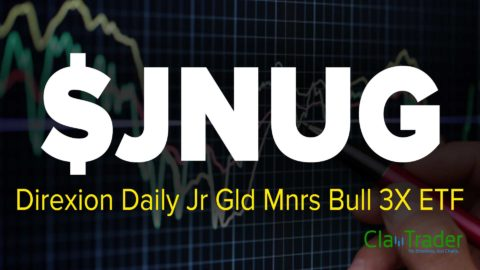 Direxion Daily Jr Gld Mnrs Bull 3X ETF (JNUG) Stock Chart Technical Analysis