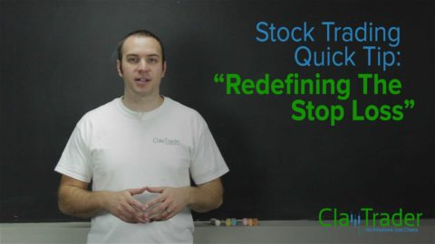 Stock Trading Quick Tip - Redefining the Stop Loss