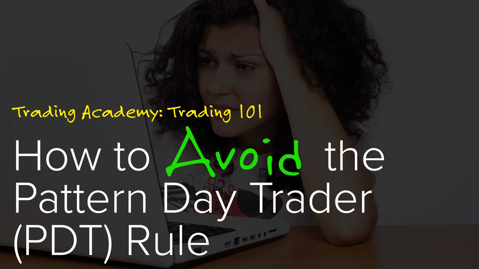 Pattern day trader etrade