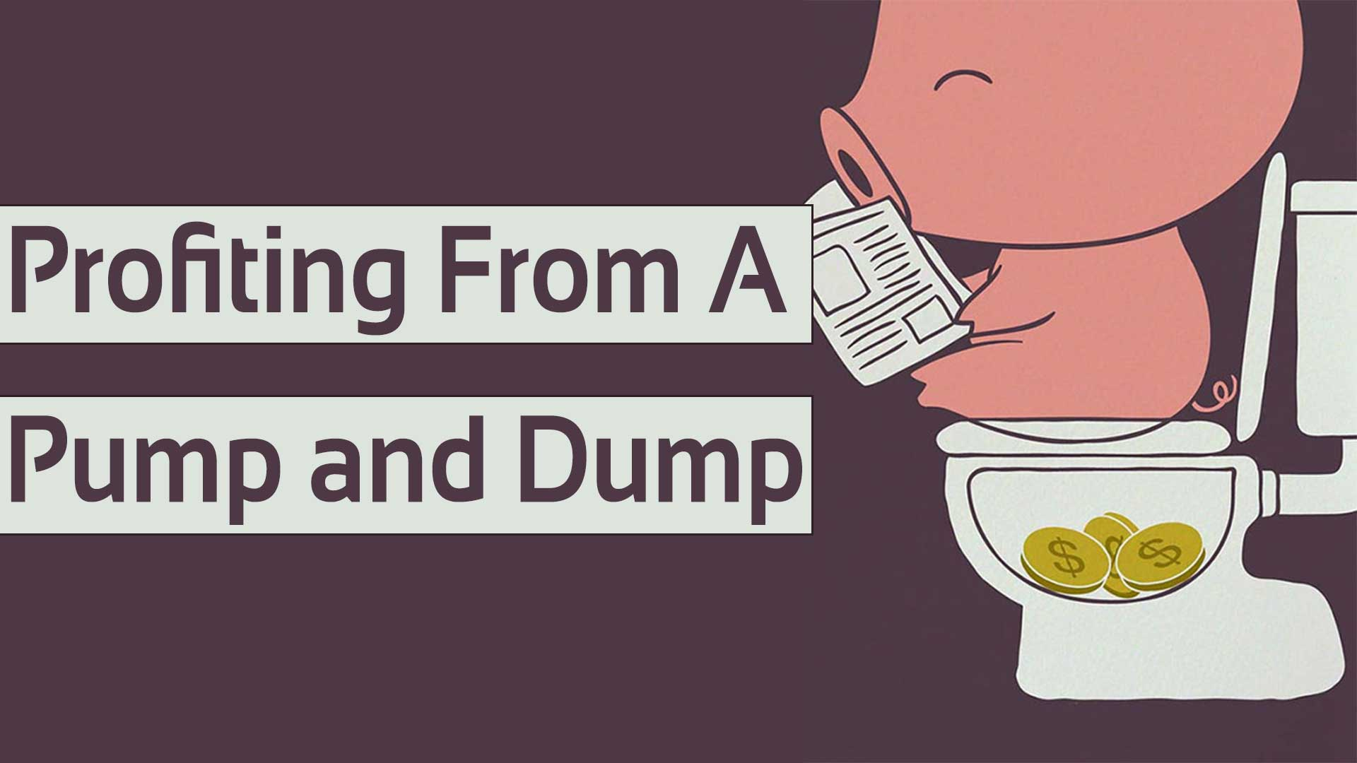 how to spot a pump and dump