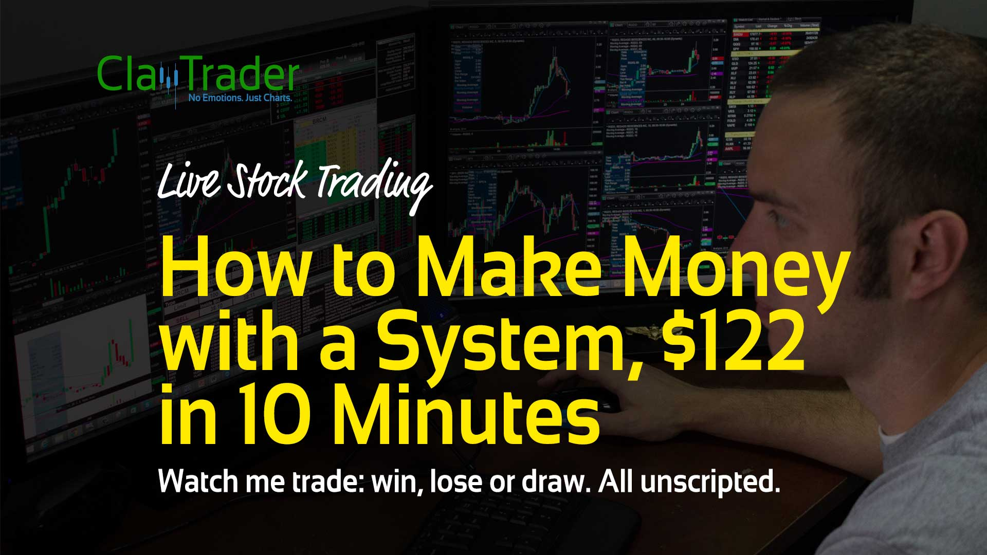 Trading stocks for a living