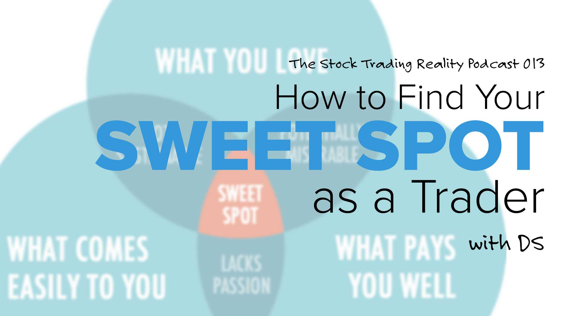 "How to Find Your ""Sweet Spot"" as a Trader"