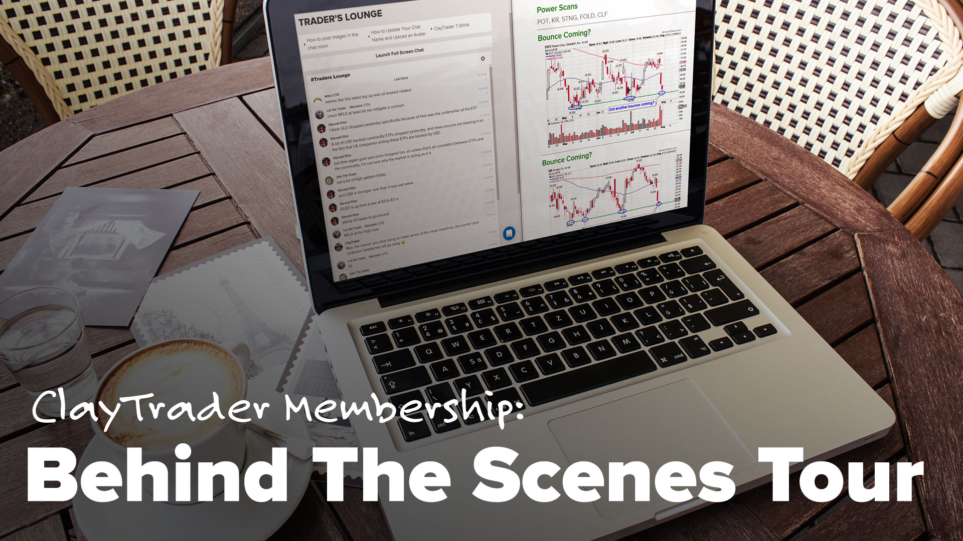 ClayTrader Membership: Behind the Scenes Tour