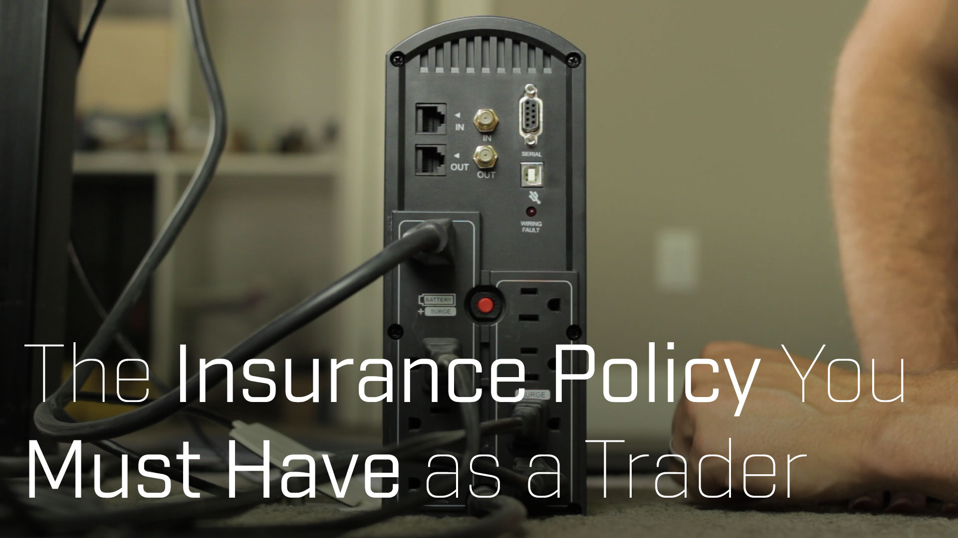 The Insurance Policy You Must Have as a Trader
