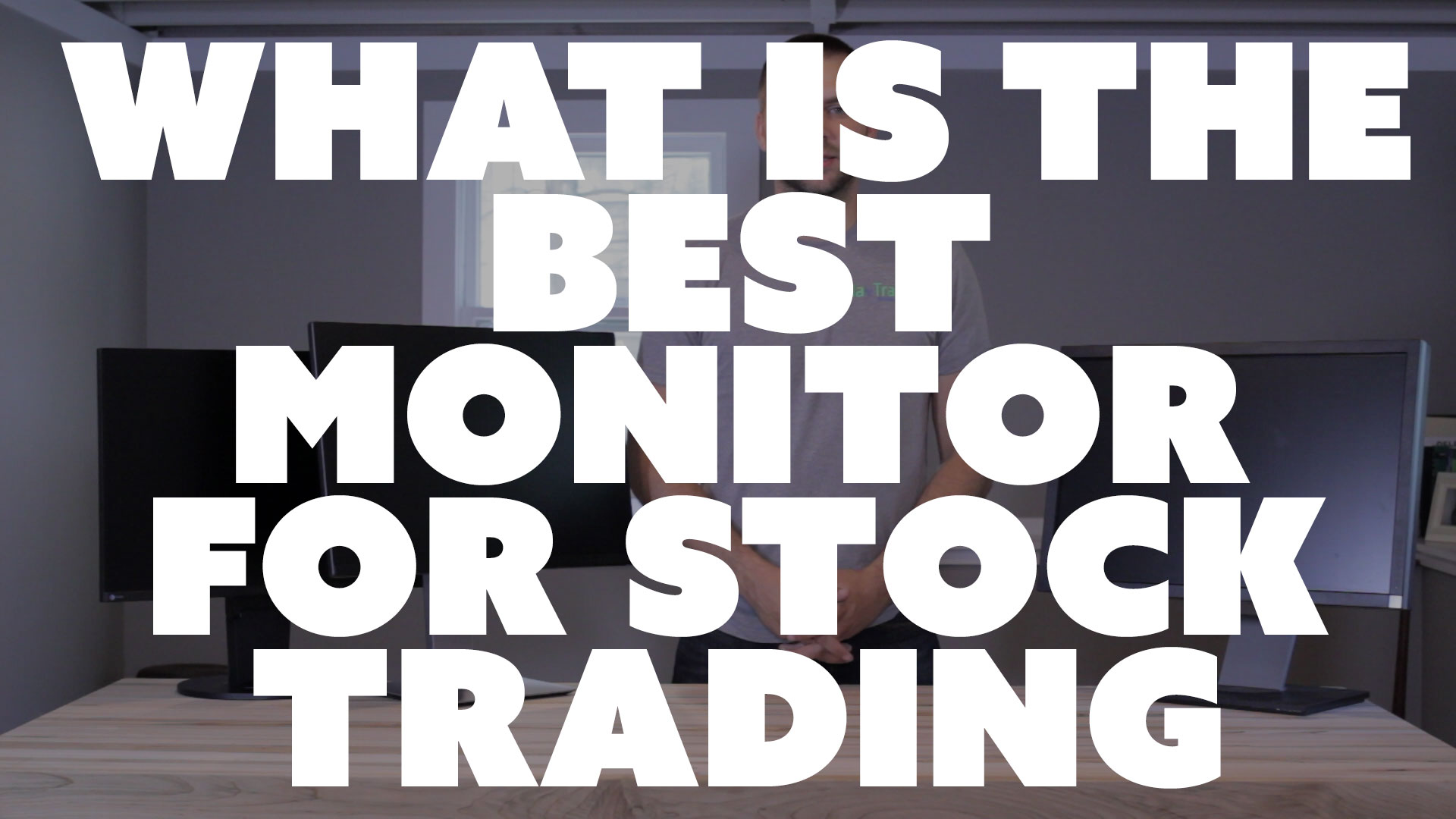 What Is The Best Monitor For Stock Trading (Eizo vs Dell)