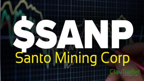 Santo Mining Corp - $SANP Stock Chart Technical Analysis
