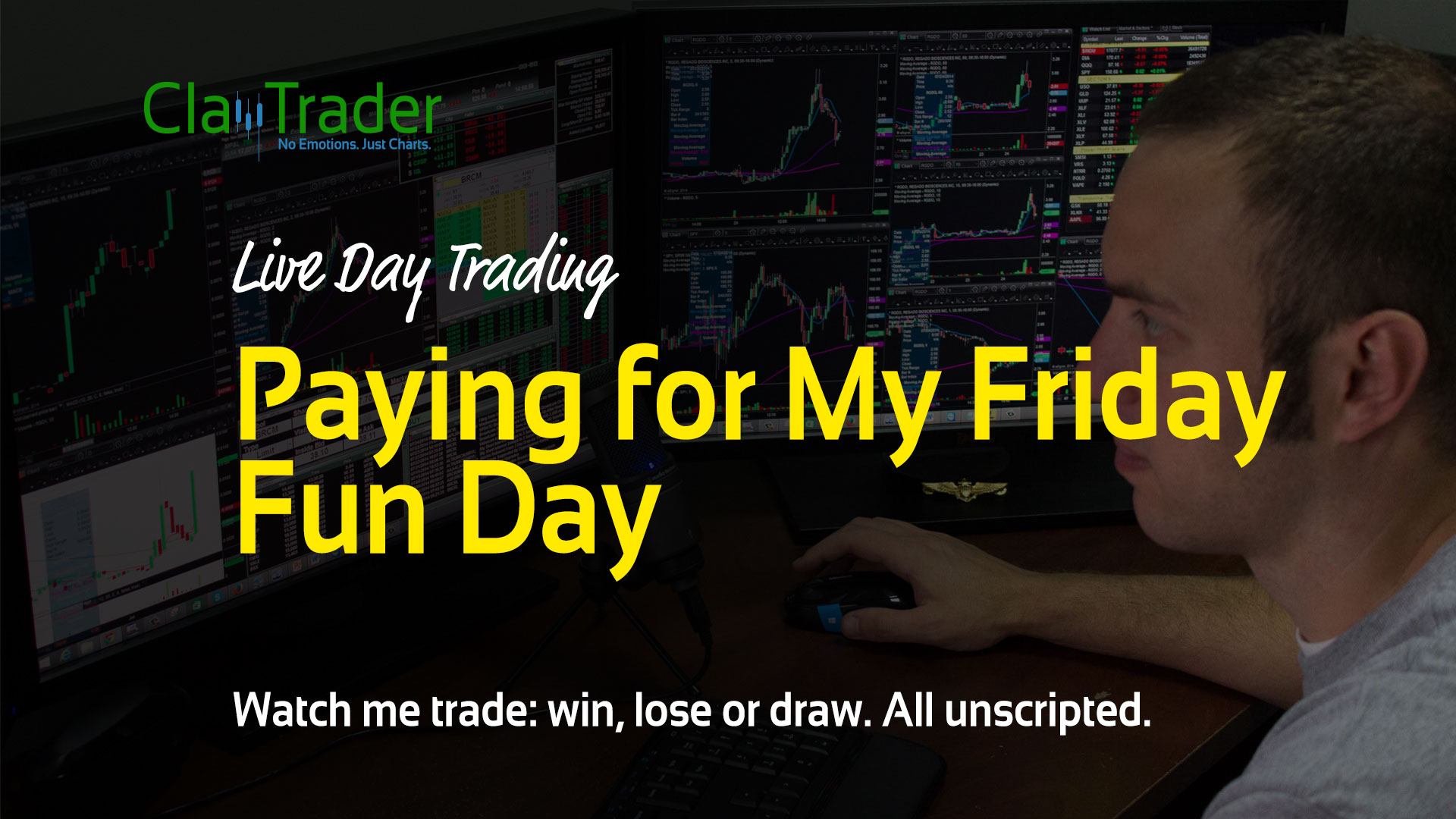 Live Day Trading Paying For My Friday Fun Day