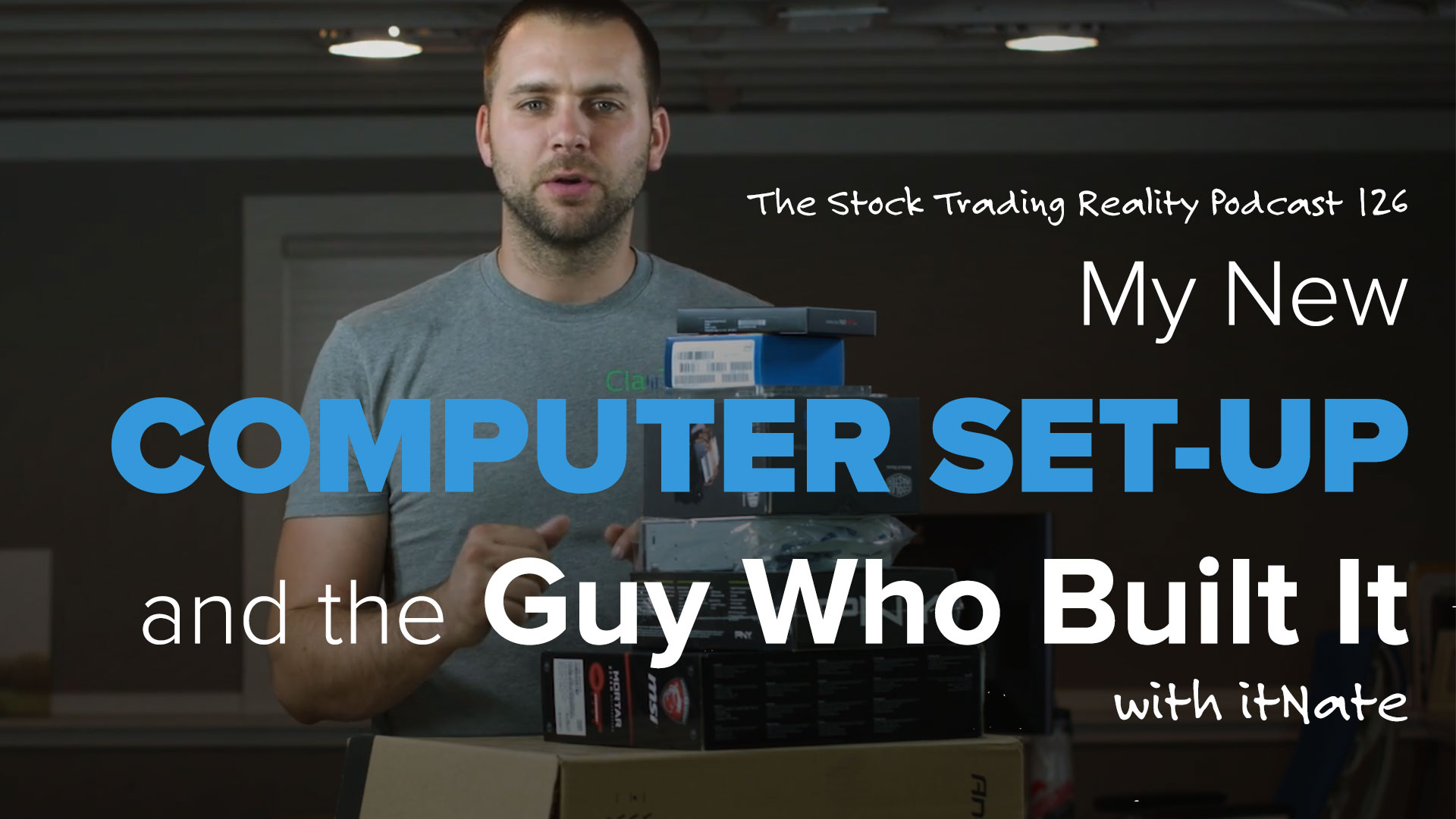 STR 126: My New Computer Set-Up and the Guy Who Built It