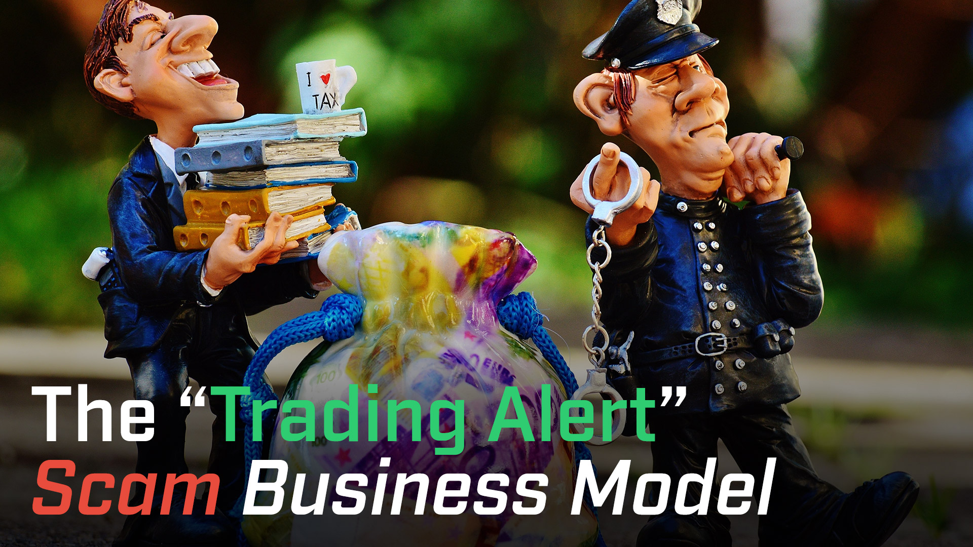 """The """"Trading Alert"""" Scam Business Model"""