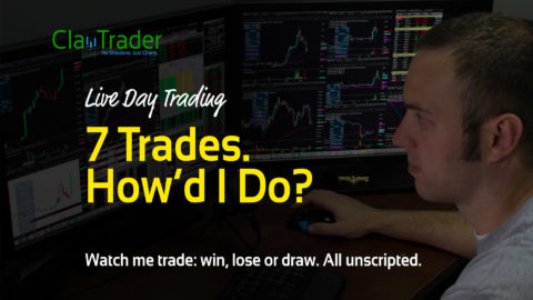 Live Day Trading – 7 Trades. How'd I Do?