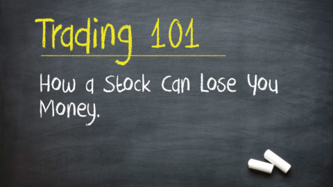 Trading 101: How a Stock Can Lose You Money.