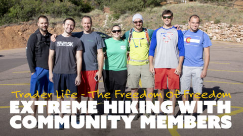 Extreme Hiking with Community Members