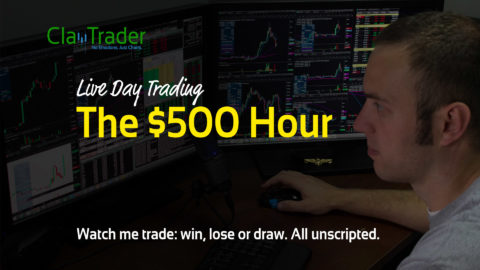 Live Day Trading – The $500 Hour