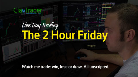 Live Day Trading – The 2 Hour Friday