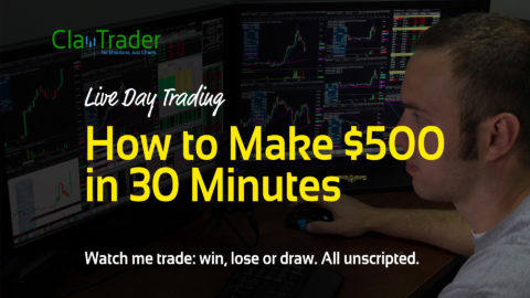 Live Day Trading - How to Make $500 in 30 Minutes