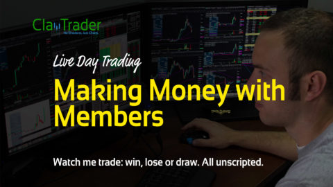 Live Day Trading: Making Money with Members