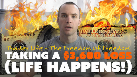 Taking a $3,600 Loss (Life Happens!)