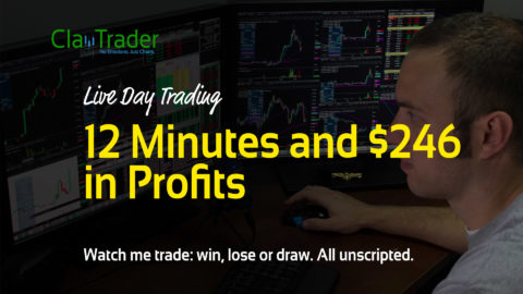 Live Day Trading: 12 Minutes and $246 in Profits
