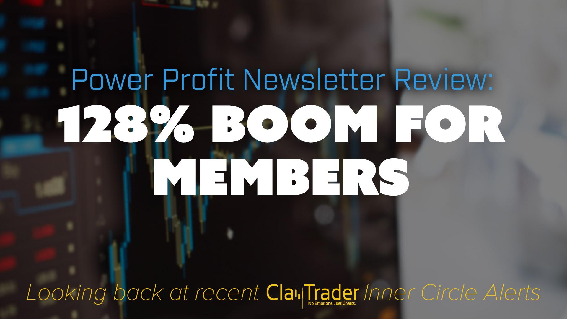 128% Boom for Members