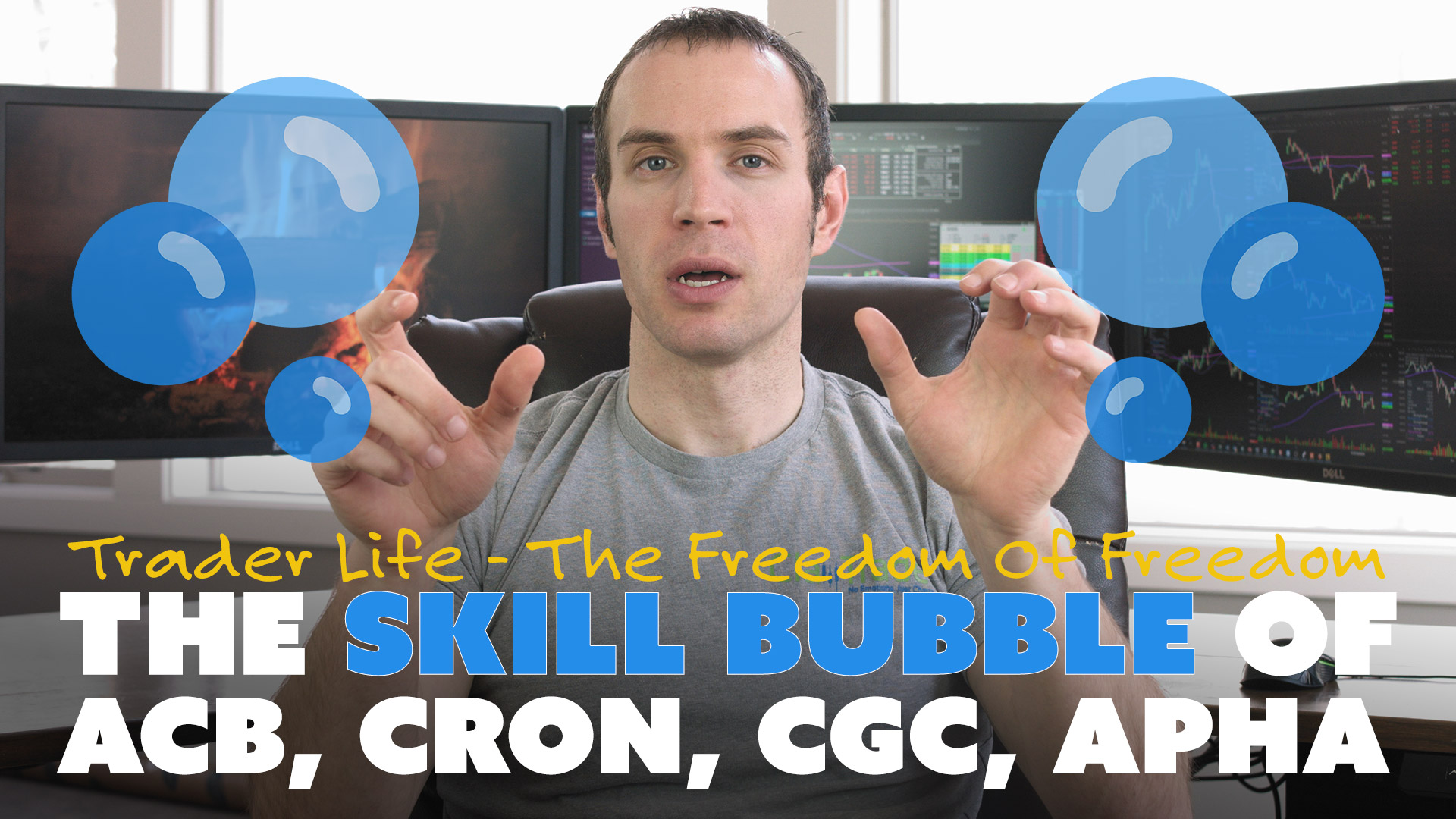 The Skill Bubble of ACB, CRON, CGC, APHA
