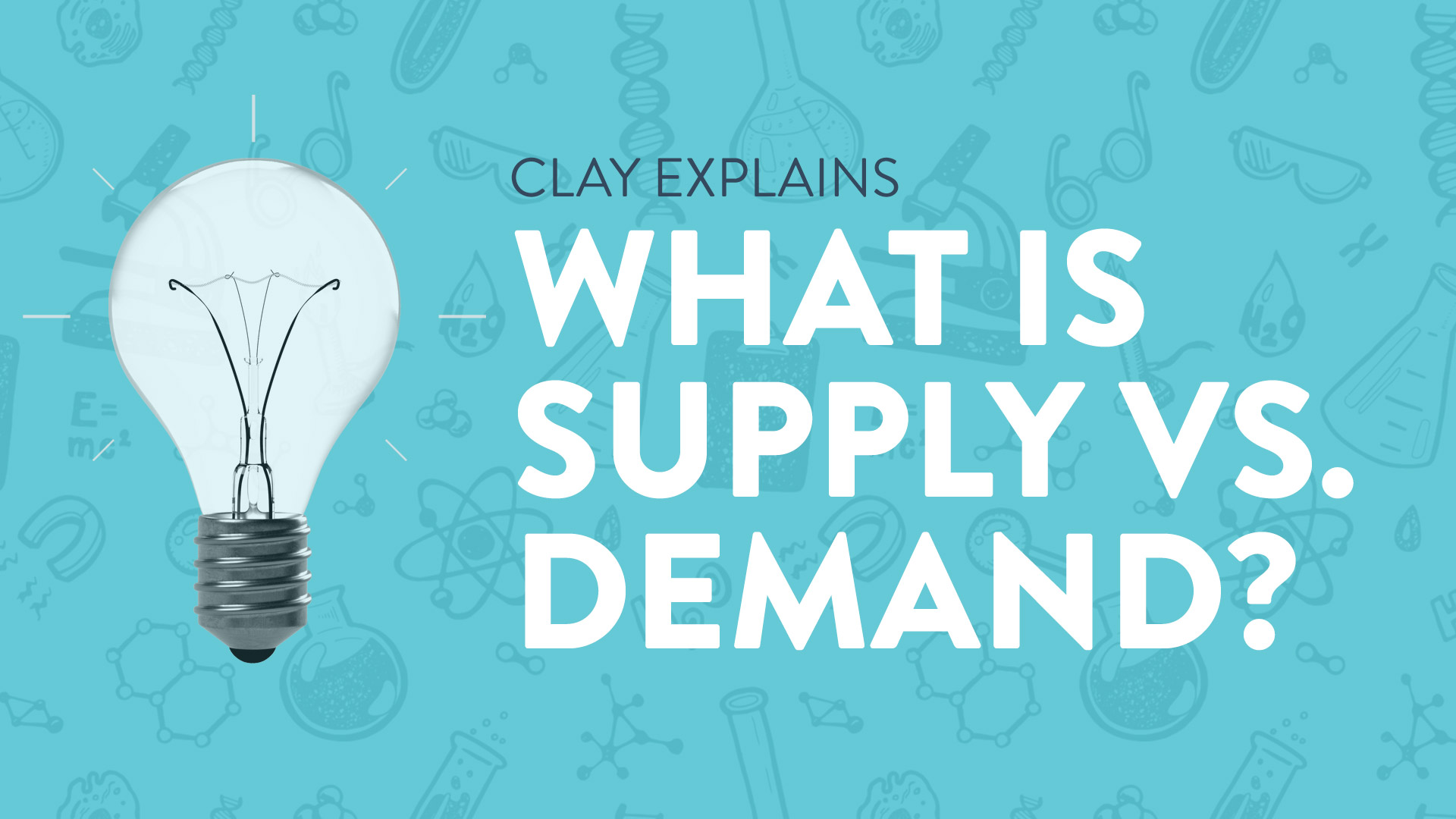 What is Supply vs. Demand?