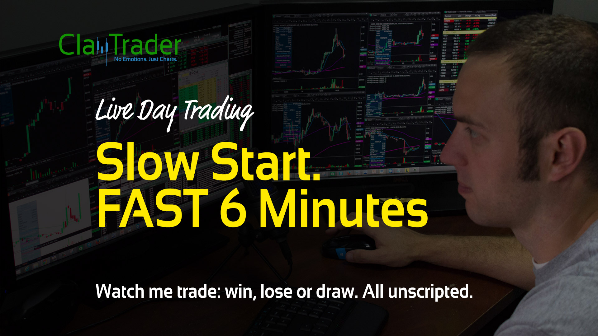 Live Day Trading - Slow Start. FAST 6 Minutes