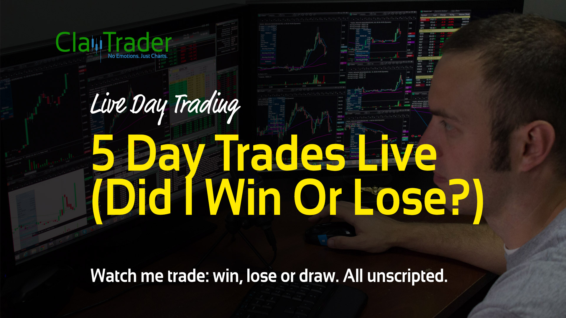 5 Day Trades Live (Did I Win Or Lose?)