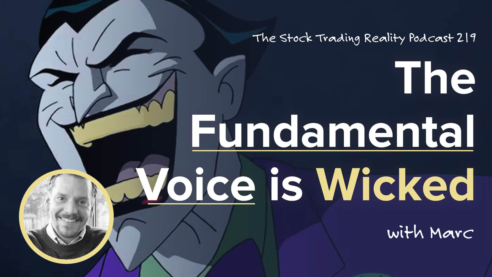 STR 219: The Fundamental Voice is Wicked....