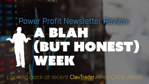 A Blah (but Honest) Week