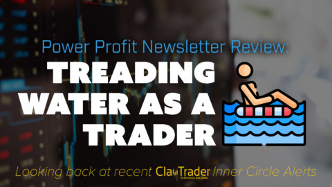 Treading Water As A Trader