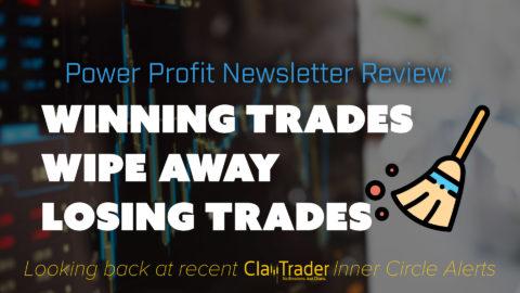 Winning Trades Wipe Away Losing Trades