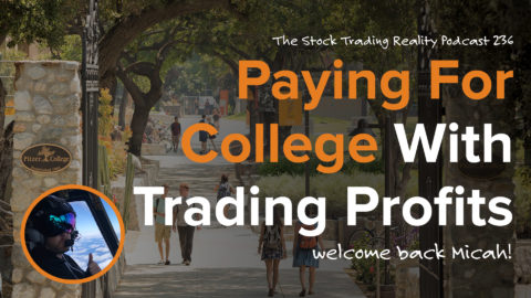 STR 237: Paying For College With Trading Profits