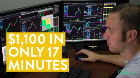 [LIVE] Day Trading | How I Made $1,100 Online (In Only 17 Minutes)