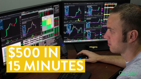 [LIVE} Day Trading | How to Make $500 in 15 Minutes