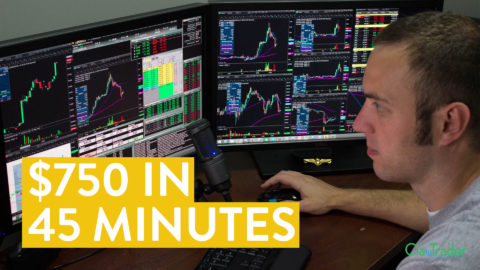 [LIVE] Day Trading   $750 in 45 Minutes