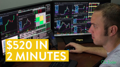 [LIVE] Day Trading | How to Make $520 in 2 Minutes