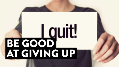 """Day Trading For Beginners l Be Good At """"Giving Up"""" and Quitting... (Let Me Explain!)"""