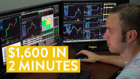 [LIVE] Day Trading | $1,600 in 2 Minutes