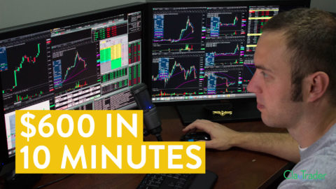 [LIVE] Day Trading | $600 in 10 Minutes (Learning Lessons)