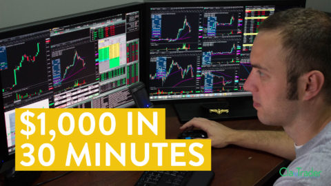 [LIVE] Day Trading   $1,000 in 30 Minutes