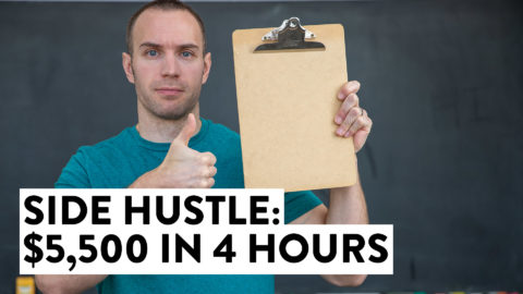 Side Hustle: How I Made $5,500 in 4 Hours (Make Money Online)