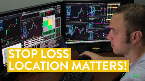 [LIVE] Day Trading   Stop Loss Location Matters! (Trade Strategy)