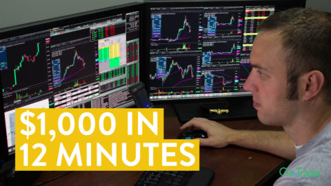 [LIVE] Day Trading   How I Made $1,000 in 12 Minutes