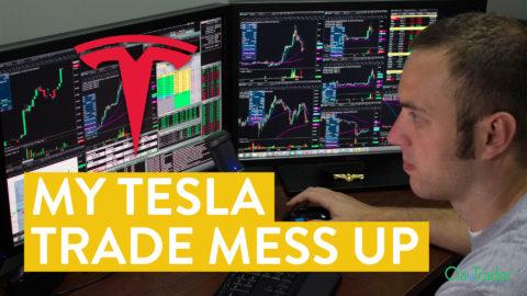 [LIVE] Day Trading | My Tesla ($TSLA) Stock Trade Mess Up