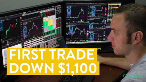 [LIVE] Day Trading | Losing $1,100 on My First Trade