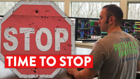 Learn To Trade | When Should You Stop Trading? (The Golden Rule...)